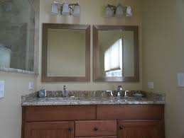 double vanity with two mirrors. wonderful double vanity lighting 60 what to do with mirrors and two r