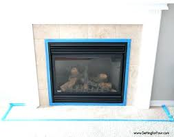 tile over brick fireplace tile for fireplace how to paint tile in 3 easy steps and