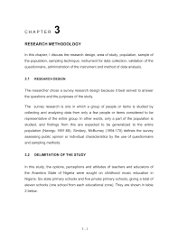 Chapter 3 Research Design Sample 03chapter3