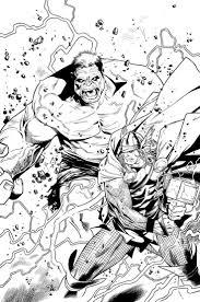 Free Printable Coloring Sheets Superhero Thor