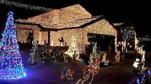 christmas lights on houses. Brilliant Lights On Christmas Lights Houses H