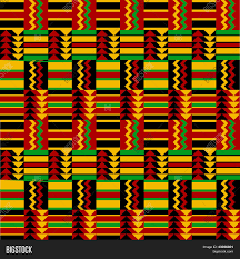 Ghana Fabric Designs African Fabric Vector Photo Free Trial Bigstock