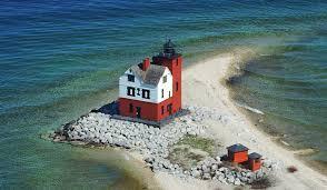Round Island Lighthouse - Straits of Mackinac