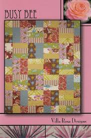Busy Bee Quilt Pattern - Villa Rosa Designs &  Adamdwight.com