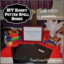 i made every guest their very own harry potter spell book and quill the kids loved them and i was really pleased with how they turned out