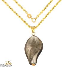 gnk617 real gold necklace