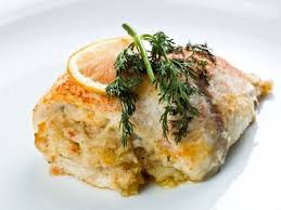 baked stuffed fish fillet with