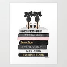 fashion poster fashion wall art