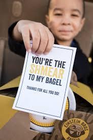breakfast bagel gift basket such a great gift idea for teachers neighborore
