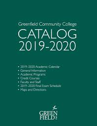 Wsu Math Placement Chart 2019 2020 Gcc Catalog By Greenfield Community College Issuu
