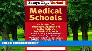 buy dr roy benaroch the great courses medical school for online emily angel baer essays that worked for medical schools 40 essays from successful