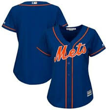 Details About Majestic New York Mets Womens Royal Alternate Plus Size Cool Base Team Jersey