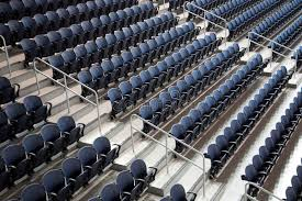 Row Of Seats In Ford Center Editorial Stock Image Image Of