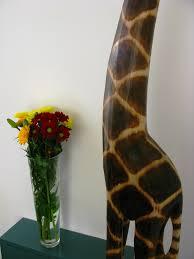 gino the wooden giraffe 200cm
