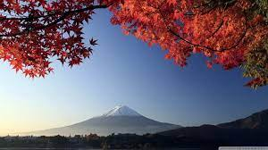 Autumn, Mount Fuji, Japan Ultra HD ...