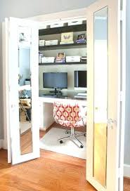 closet to office. Small Closet Office Ideas Design Home  . To