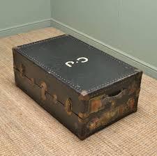vintage watajoy travel trunk coffee table