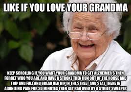 Can you even read bro - grandma - quickmeme via Relatably.com