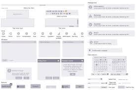 website wireframe solution com design elements forms