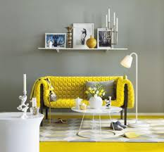 Yellow Living Room Chair Modern Yellow Living Room Furniture With White Interior Wall Color