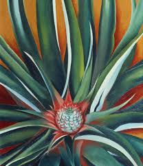 georgia o keeffe pineapple bud 1939 oil on canvas private collection 2018 georgia o keeffe museum artists rights society ars new york