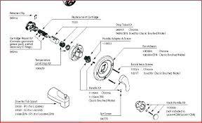 delta bathroom faucet repair diagram delta shower faucet repair kit single handle delta single handle shower