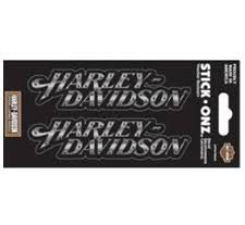 harley davidson decals two monotone harley davidson riveted