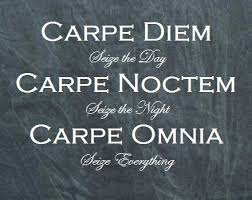 Seize The Day Quotes New Carpe Diem Carpe Noctem Carpe Omnia Seize The Day Seize The