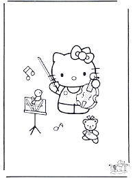 Playing music hello kitty freede44. Free Coloring Pages Hello Kitty Music Coloring Home