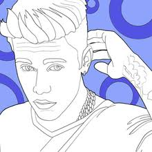 Small Picture JUSTIN BIEBER coloring pages Coloring pages Printable Coloring
