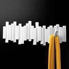 Umbra Flip 5 Hook Coat Rack Umbra Sticks Multi Hookcoat Rack With 100 Flip Down Hooks Mist Blue 80