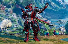 monster hunter world costumes will be up for grabs in street