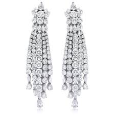 wallpapers diamond chandelier earrings design that will make you wonderstruck for home interior design ideas with