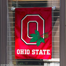 ohio state garden flag ohio state university garden banner flag on