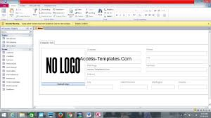 Invoice Tracking Template Ms Access Database Invoice Tracking Template Access Database And 5