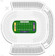 Lsu Tiger Stadium Seating Chart With Seat Numbers Tiger Stadium Lsu Seating Guide Rateyourseats Com
