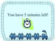 5 Minute Powerpoint Timer Esl English Powerpoints 5 Minute Timer
