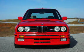 Sport Series bmw e30 m3 : BMW-E30-M3-Red-Front-View - Timeless