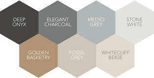 The Scandinavian Color Palette. A range of greys and beiges are ideal for a  Nordic look