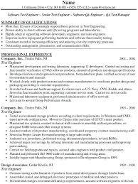 Senior Qa Engineer Sample Resume Impressive Sample Qa Analyst Resume Pohlazeniduse