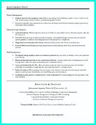 Construction Management Resume Objective Resume Objective Management Savebtsaco 9
