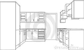 simple kitchen drawing. Excellent Simple Kitchen Drawing Best Image Libraries Goodnews6Info N