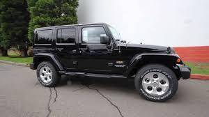 jeep rubicon 2014 black. el128375 2014 jeep wrangler unlimited sahara kirklanddcj black youtube rubicon e
