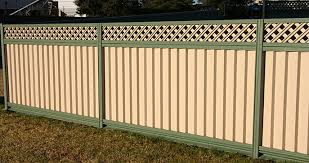 Plain Sheet Metal Fence L On Design Decorating