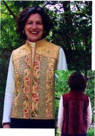 No Sew Quilted Jacket Sewing Pattern embellish a sweatshirt into a ... & Quilt as you go vest pattern Adamdwight.com