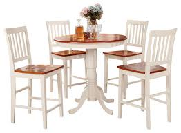 3 pc counter height dining set counter height table and 2 kitchen chairs