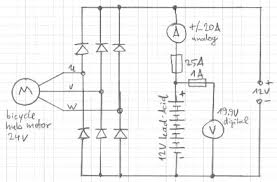 how to transfer an electric bike hub motor to a gernerator may be 6 lead single phase motor wiring diagram at Motor Generator Wiring Diagram