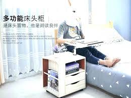 overbed desk table over bed computer desk adjustable rolling over bed laptop desk table for bed