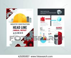 Clip Art Of Vector Brochure Flyer Magazine Cover Booklet Poster