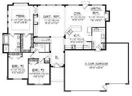 innovative new home plans with open floor plan modest design ranch style house open floor plan
